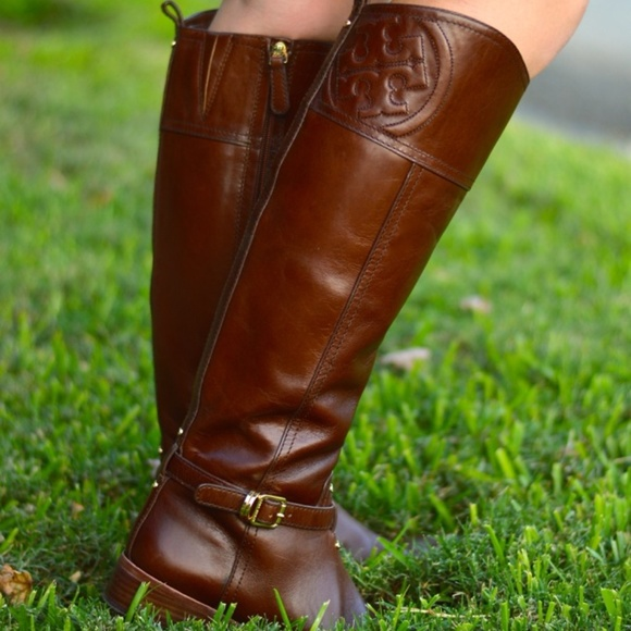 Tory Burch Shoes - Tory Burch 'Marlene' leather knee high riding boot